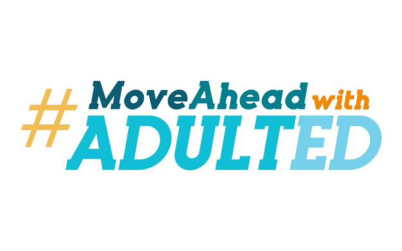 Move Ahead with Adult Ed logo